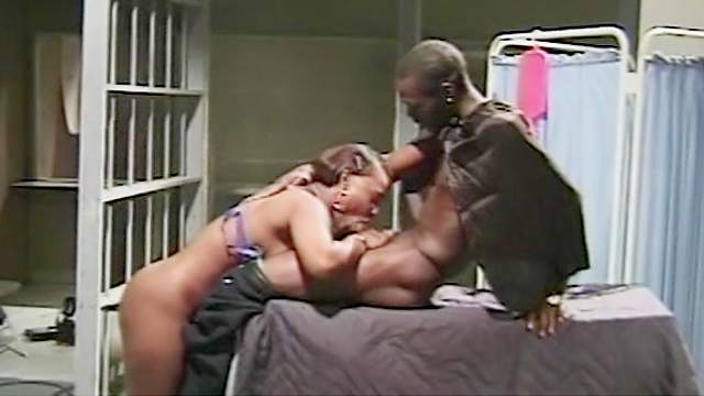 Blowjob, Doggy style, Ebony, Hardcore, HD, Military, Natural tits, Short hair, Uniform