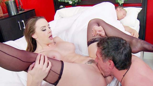 Chanel being fucked in her anal and face