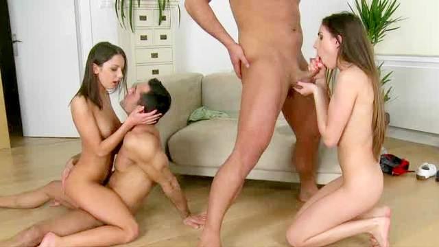 Tina Blade, Tony, Renato, Foxy Di