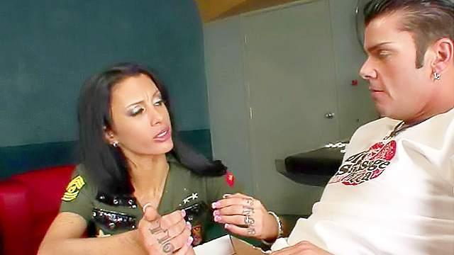 Babes, Blowjob, Brunette, Cumshot, Handjob, MILF, Pizza, Pussy licking, Reality, Skinny