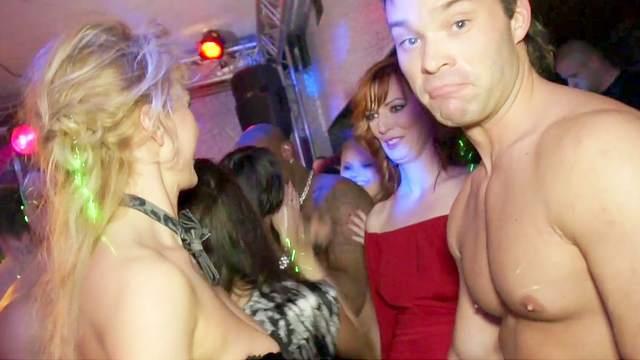 Blowjob, CFNM, Club, Handjob, Orgy, Party, Riding, Standing, Stockings