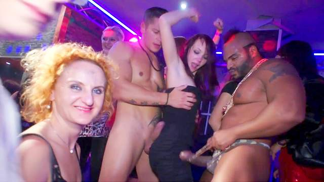 Big black cock, Blonde, Blowjob, Brunette, Club, Dance, Hardcore, HD, Interracial, Orgy, Party, Public, Tattoo
