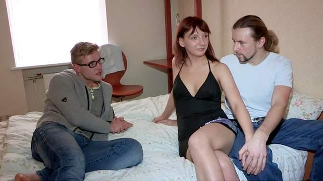 Perverted man sells his lovely girlfriend