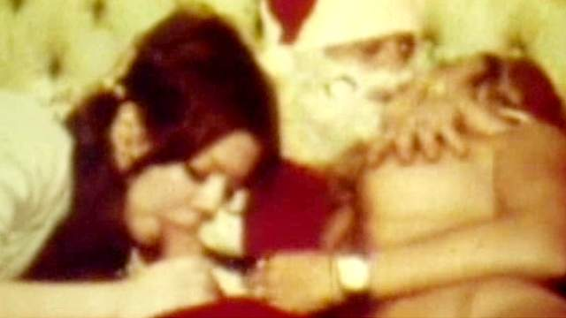 Blowjob, Christmas, FFM, Long hair, Pigtails, Retro, Threesome, Young girl