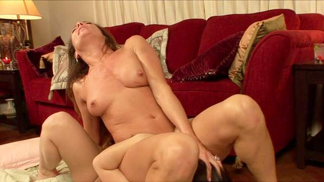 Michelle Lay and Kristina Rose are kissing