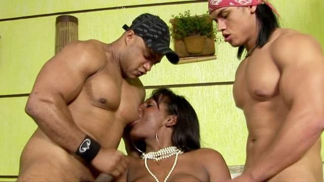 Rick, Flavia Lins, Jr Carioca