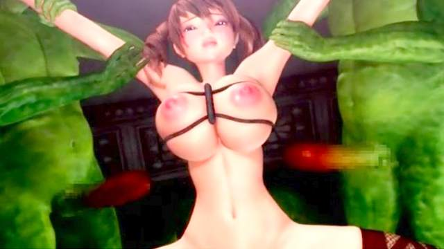 3D Monster, Anal, Big tits, Gangbang, Monster, Monster cock, Stockings, Titjob