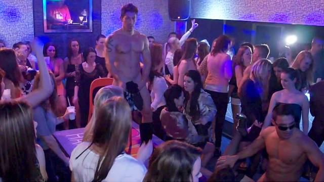 Bachelorette, Black, Blowjob, Czech, Interracial, Party, Public, Stripper
