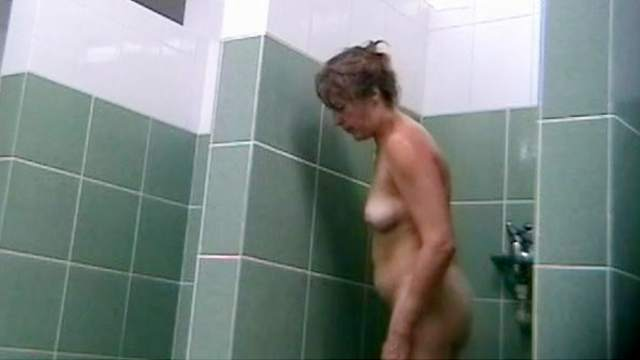 Hidden cam, Mature, Shower, Voyeur