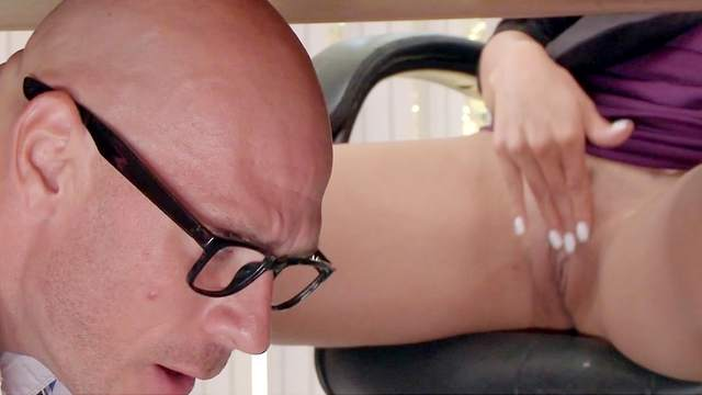 Ass, Big ass, Big tits, Blowjob, Brunette, Creampie, Doggy style, Facesitting, Fake tits, Flexible, Hardcore, HD, Moaning, Office, Perfect body, Riding, Secretary, Spread legs, Standing, Table
