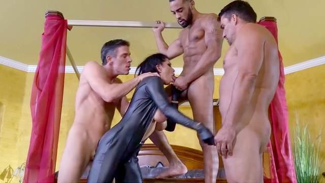 Mick Blue, Toni Ribas, Romi Rain, Stallion