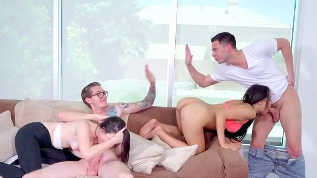 Seth Gamble, Jenna Reid, Maya Bijou, Buddy Hollywood