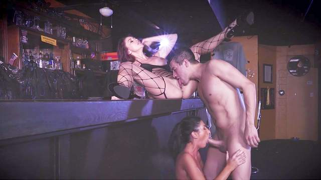 Monique Alexander, Xander Corvus, August Ames