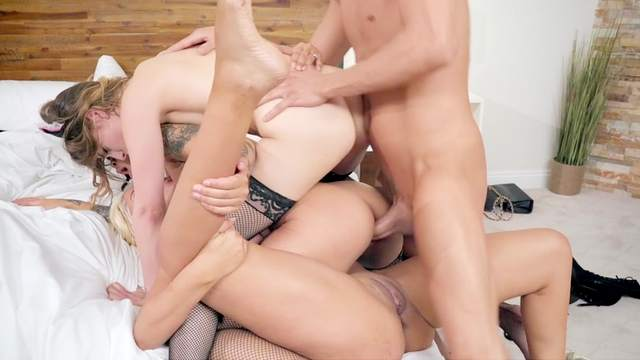 Bridgette B, Xander Corvus, Kristen Scott, Honey Gold
