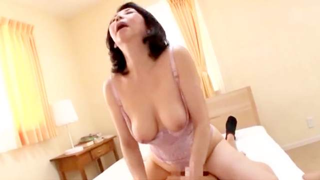 Amateur, Asian, Bed, Bedroom, Blowjob, Doggy style, Japanese, Mature, Missionary, Moaning, Mom, Riding