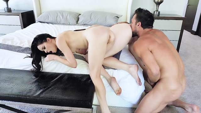 Needy man ass fucks both these dolls before creaming their tits