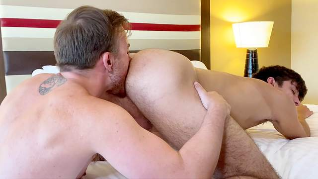Gay guy getting fucked from behind topper perceptive Nude Men Fuck Hard And Offer A Great Gay Perspective Hell Porno