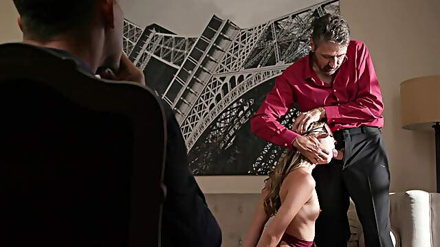 Appealing wife cuckold fucked in merciless modes