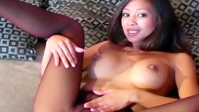 Asian, Erotic, Fake tits, HD, Nylon, Pantyhose, Solo girl, Tease