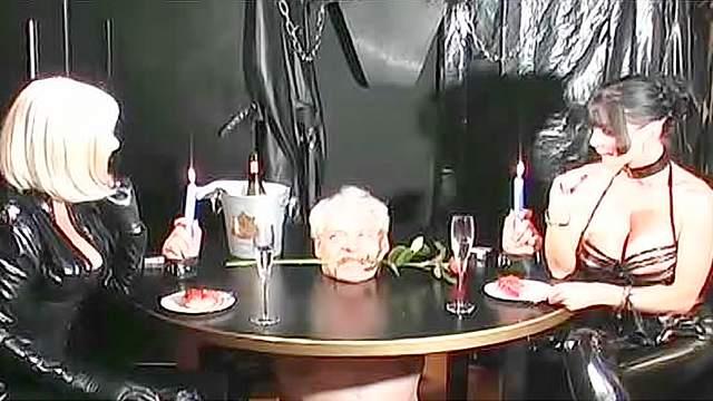 Femdom, Latex, MILF, Pain, Punishment, Tied, Torture, Wax, Wrap bondage