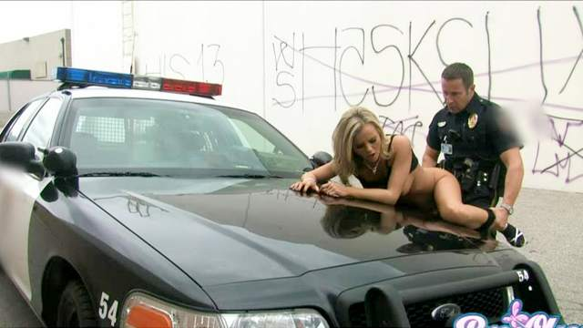Bree Olson outdoor sex with police officer