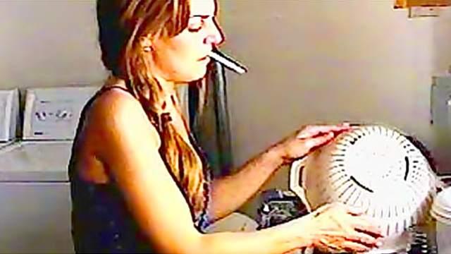 Cigar, Cigarette, Fetish, Kitchen, Mature, Mom, Smoking