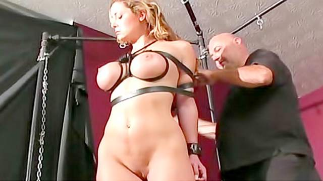 Ass, BDSM, Big tits, Domination, Forced orgasm, Rope, Shaved pussy, Toys