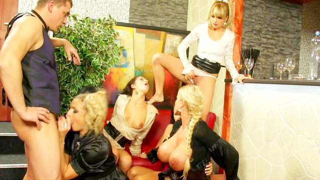 Clothed women soaked in warm piss