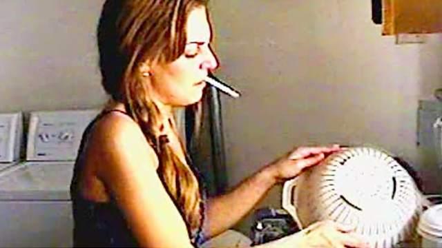 Cigar, Cigarette, Fetish, Kitchen, Pigtails, Smoking