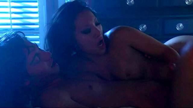 Erotic nighttime sex with pornstar Asa Akira