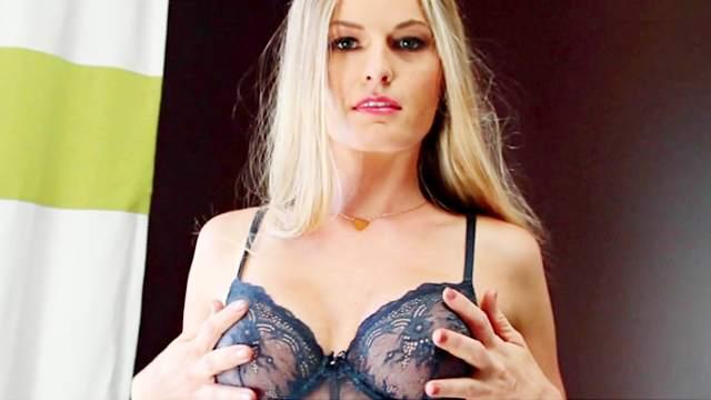 Take a look at stunning blonde Lena Erickson