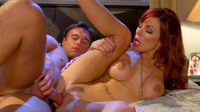 Kirsten Price is riding on the hardcore dick like crazy one
